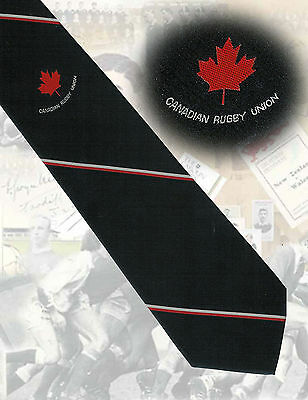 Canada - Canadian Rugby Union circa 1990s - 9cm RUGBY TIE