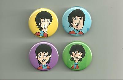 Beatles Cartoon 1.5 inch Pins / Buttons or Magnets Lot 6