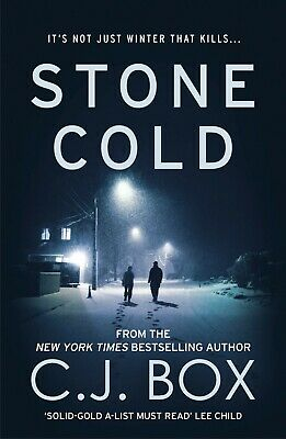 Stone Cold by C. J. Box (Paperback, 2014) New Book