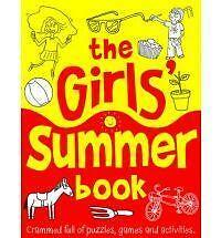 The Girls' Summer Book - ACTIVITY AND PUZZLE BOOK