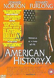 American History X DVD (1999) Edward Norton, Kaye (DIR) cert 18 Amazing Value