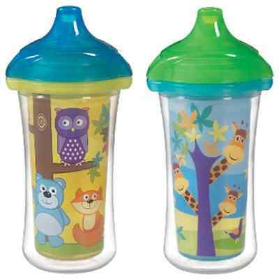 Munchkin 9 Ounce Toddler Baby Infant Spill Proof Insulated Training Sippy Cup