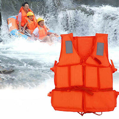 Adults Summer Swimming Floating Buoyancy Aid Foam Vest Life Jacket Rescue Suit