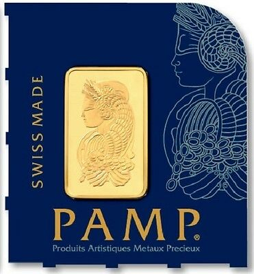1 x 1 gram gold bar - Multigram Minted - 99.99% Pure - PAMP