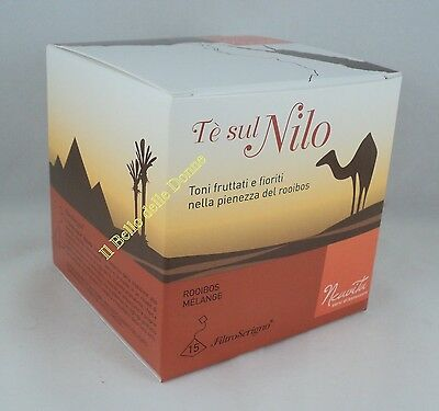 NEAVITA Tea on Nile rooibois and licorice and fruit 15 filter casket bag
