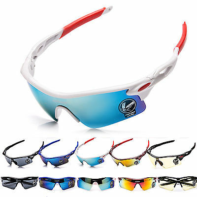 Outdoor Sport Cycling Bicycle Running Bike Riding Sun Glasses Eyewear Goggles
