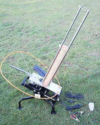 EX-DEMO  GDK BLACK WING CLAY PIGEON TRAP, 12v,AUTO, AUTOMATIC, ELECTRIC,WW1