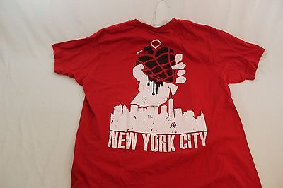 Green Day American Idiot Large T shirt New York City NYC