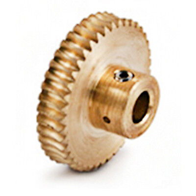 BOSTON GEAR Q1342 Worm Gear - Rough Bore 16 DP Pitch 20 Teeth 0 Inch Bore