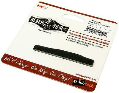 GraphTech BLACK TUSQ XL Compensated Acoustic Guitar Saddle PT-9110-00 for MARTIN