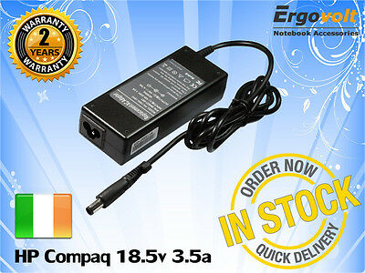 For HP G60 G61 G70 G71 LAPTOP CHARGER AC ADAPTER 18.5V 3.5A With Pin