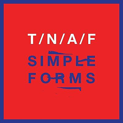 THE NAKED AND FAMOUS Simple Forms CD NEW .cp