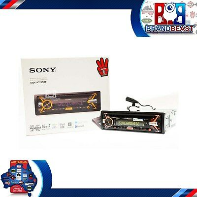 Sony Mex-n5150bt Car Radio Stereo Cd Usb Bluetooth Ipod Android Apps Mexn5150bt