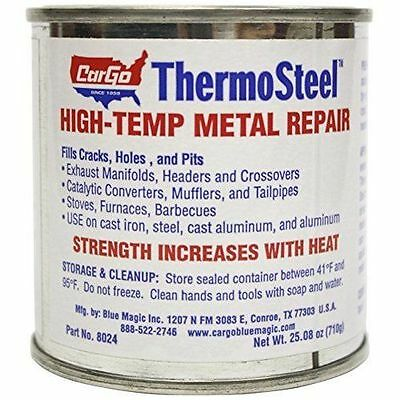 Blue Magic 8024 ThermoSteel High-Temp Metal Repair - 24 oz. by Cargo NEW