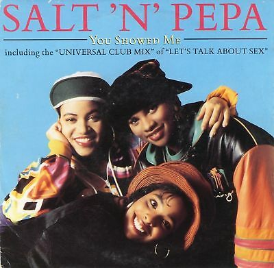"SALT N PEPA you showed me 12"" PS uk ffrr FX 174"