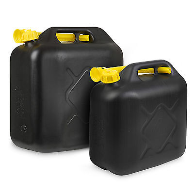 10L/20L Litre Jerry Can Petrol Diesel Fuel Water Storage Container Can & Spout