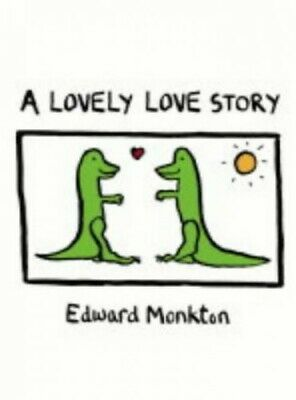 A Lovely Love Story by Monkton, Edward Hardback Book The Cheap Fast Free Post