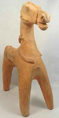 A Cypriot Style terracotta horse figure, H: 9 in