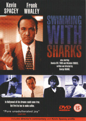 Swimming With Sharks DVD (2002) Kevin Spacey, Huang (DIR) cert 15 Amazing Value