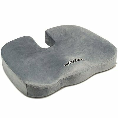 Aylio Comfort Foam Coccyx Cushion for Back Pain Relief and Sciatica in Office