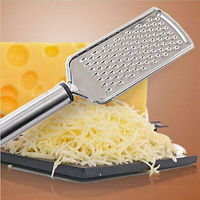 Hand Held Stainless Steel Grater Cheese Zester Vegetable Kitchen Tool