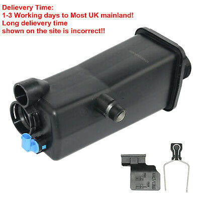 For BMW3 Series X3 X5 E46 E83 Coolant Expansion Water Tank With Outlet & SENSOR