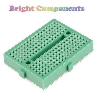 Solderless Prototype Breadboard (170 Points) - Green - 1st CLASS POST