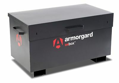 Armorgard Oxbox OX3 steel security tool site storage box (1200x665x630mm)