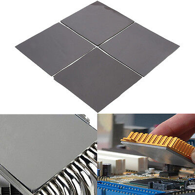 100mm x 100mm Square Thermal Transfer Heatsink Cooling Pad Double Sided Adhesive