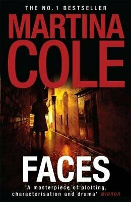 Faces by Cole, Martina Paperback Book The Cheap Fast Free Post