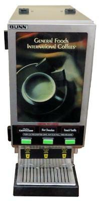 Bunn HC-3-SS REFURB Commercial Cappuccino Machine FOR SHIPPING QUOTE CALL