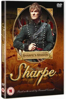 Sharpe's Mission DVD (2007) Sean Bean, Clegg (DIR) cert 15 Fast and FREE P & P