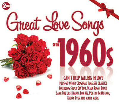 Various Artists : Great Love Songs of the 1960s CD 2 discs (2013) Amazing Value