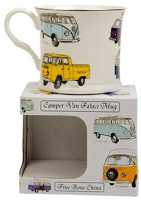 Kombi Vans Palace Mug Fine Bone China Cup Combi Car Kitchen Collectable Gift New