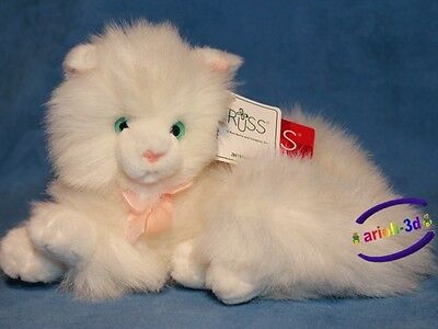 Nikki By Russ # 9267 Cat - Kitty Plush Stuffed Animal - Peluche De Chat New