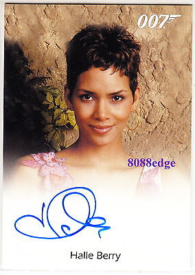 "2015 James Bond 007 Archives Auto: Halle Berry - Autograph""monster's Ball-Oscar"""