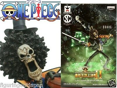 One Piece Brook Skeleton Banpresto SCultures Colosseum Zoukei figure Japan
