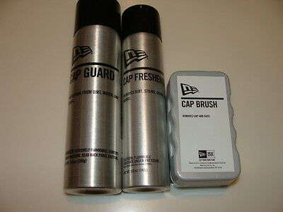 New Era Cap Hat Cap Guard Cap Brush Cap Freshener Set of 3 Protection Dirt Water