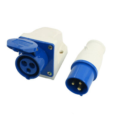 SF-113 AC 220-250V 16A 3 Pin Weather Proof Industrial Socket