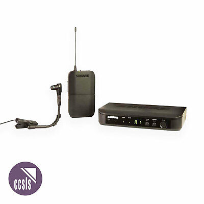 Shure Blx14B98 Instrument Wireless System With Beta 98 Clip-On Microphone