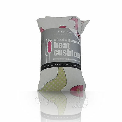 Luxurious Microwave Wheat Bag Lavender Scented Heat Pack Hot Neck Wrap