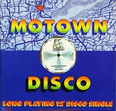 """LIONEL RICHIE dancing on the ceiling (extended) LIOT 1R uk motown 12"""" CS EX/EX"""