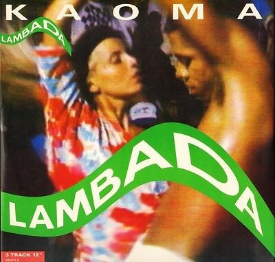 "KAOMA lambada 655011 8 uk cbs 1989 12"" PS EX/EX"