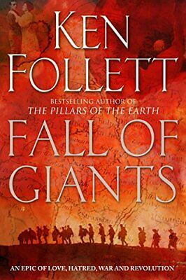 Fall of Giants (The Century Trilogy) by Follett, Ken Paperback Book The Cheap