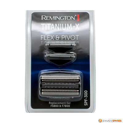 REMINGTON TITANIUM X SPF-300 FOIL AND CUTTERS, F5800 F7808,  UK SELLER Free Post