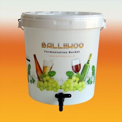 25 Litre Fermentation / Brewing Bucket / Bin With Tap
