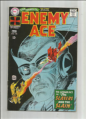 STAR SPANGLED WAR STORIES #138: Silver Age Grade 5.0 With Iconic Kubert Cover!!