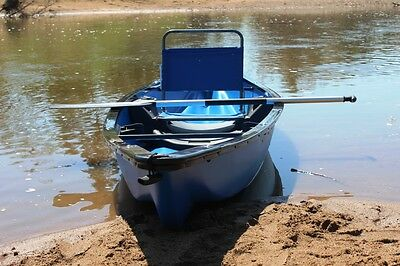 Canoes, Canadian Canoe, Plastic Canoe, old Fashion Canoe BN 1 Person Canoe BLUE