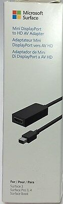 Microsoft F6U-00011 Surface Pro/Pro 2/3/4 Mini DisplayPort-to-HDMI Adapter Cable