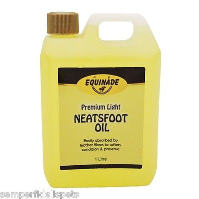 Equinade Leather Care Lite Neatsfoot Oil 1Lt